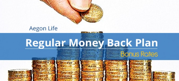 Aegon Life Regular Money Back Plan Bonus Rates. Calculate returns & Maturity Value