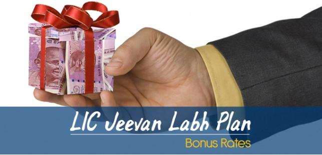 LIC Jeevan Labh Plan Bonus Rates