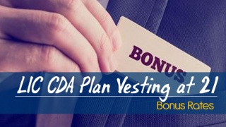 LIC Children Deferred Endowment Assurance (CDA) Plan Vesting At 21 Bonus Rates. Calculate returns & Maturity Value