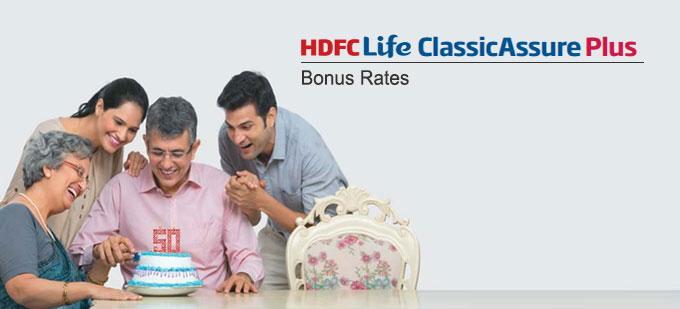 HDFC Life Classicassure Plus Plan Bonus Rates. Calculate returns & Maturity Value