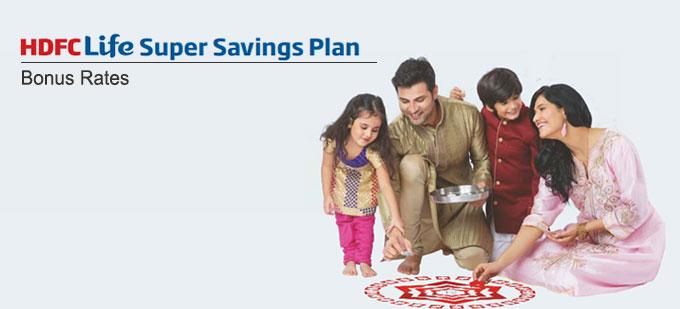 HDFC Life Super Savings Plan Bonus Rates. Calculate returns & Maturity Value