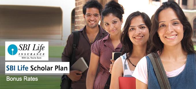 SBI Life Scholar Plan Bonus Rates. Calculate returns & Maturity Value