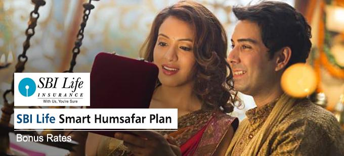 SBI Life Smart Humsafar Plan Bonus Rates. Calculate returns & Maturity Value