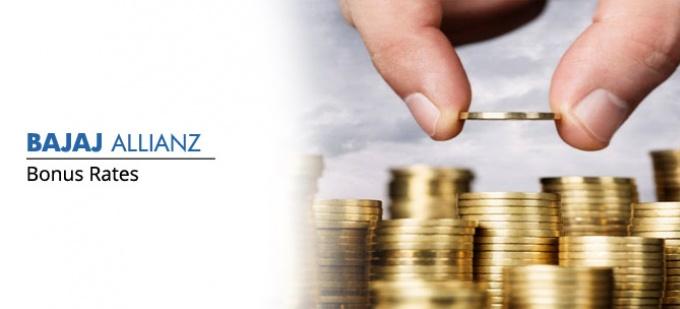 Bonus rate of Bajaj Allianz life plans. Check bonus values for all Bajaj Allianz life policies