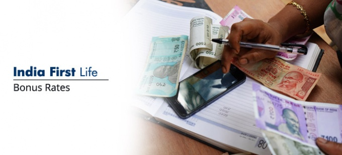 Bonus rate of IndiaFirst Life plans. Check bonus values for all IndiaFirst Life policies