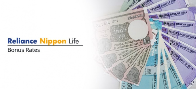 Bonus rate of Reliance Nippon Life Insurance plans. Check bonus values for all  Reliance Nippon Life policies