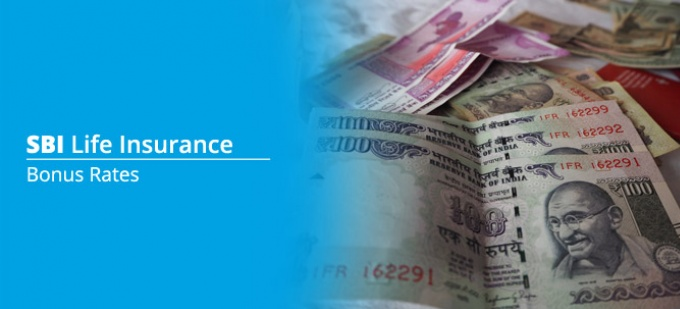 Bonus rate of SBI Life Insurance plans. Check bonus values for all  SBI Life policies