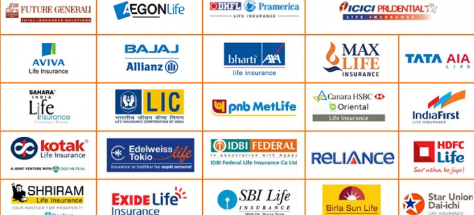 Top Life Insurance Companies >> Life Insurance Companies operating in India - as on Date