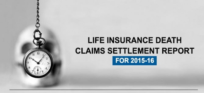 Life Insurance Death Claim Settlement Report 2015-16