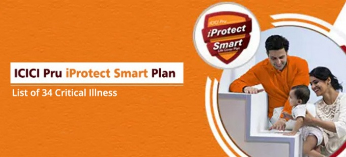 List of 34 Critical Illness covered in ICICI Pru iProtect Smart Plan