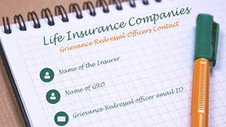 Grievance Redressal Officers - Life Insurance Companies