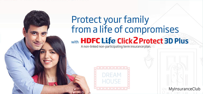 HDFC Life Click 2 Protect 3D Plus Plan - Review, Features ...
