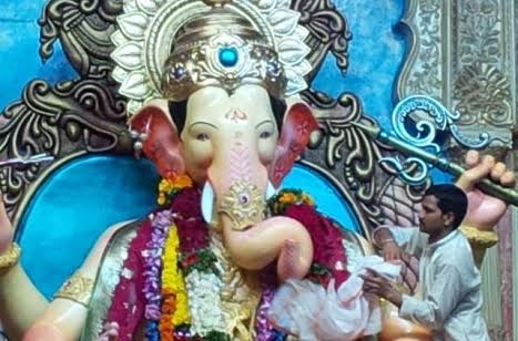 Huge Idols and Grander Insurance covers for Ganesh Utsav
