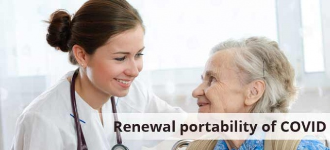 IRDAI allows renewal portability of COVID specific products