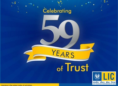 LIC celebrates 59 years of trust and service to India